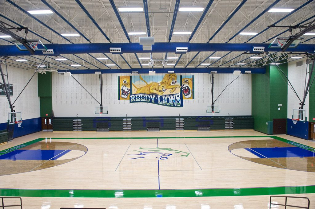 Rick Reedy High School Stonehill Commercial Painting
